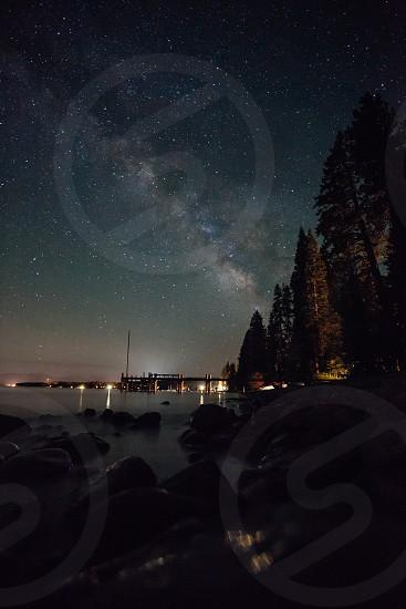 Lake Tahoe Milky Way photo