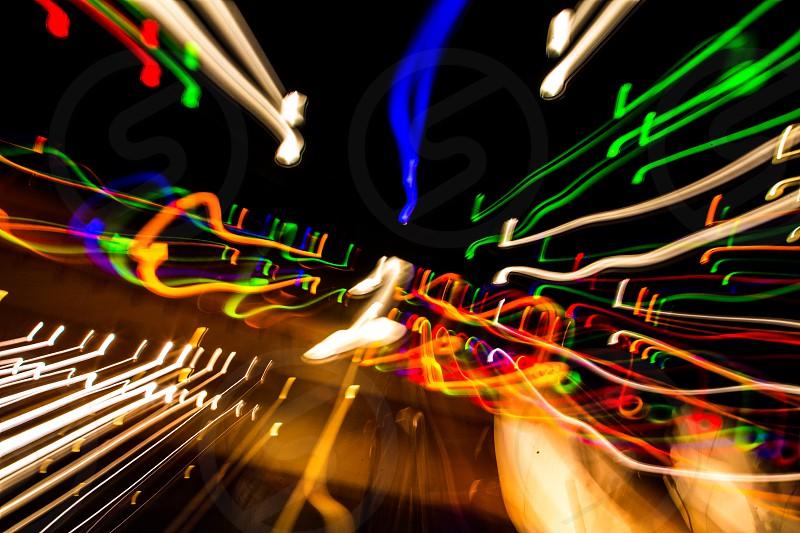 Light blur painting color colors photo