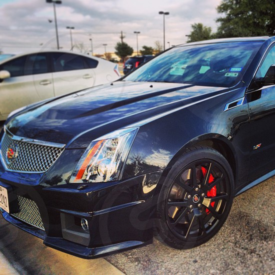 Road trip in a Cadillac CTS-V photo