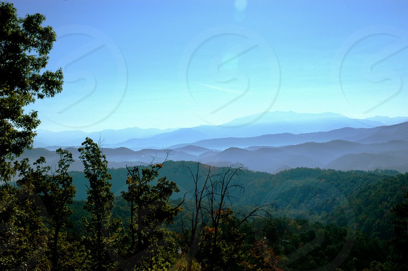 Gatlinburg mountains photo