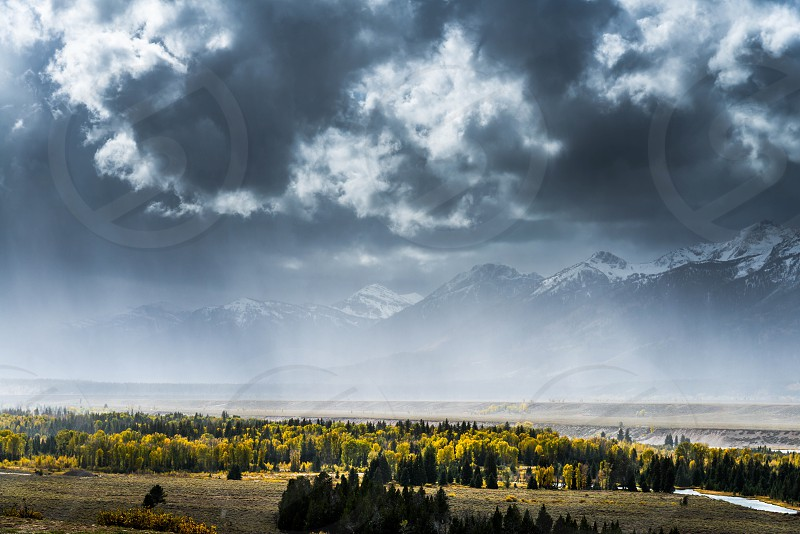 Autumn in the Grand Tetons photo