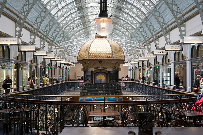 Inside Queen Victoria Building QVB photo