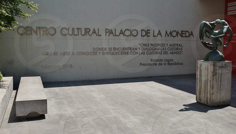 Centro Cultural Palacio de La Moneda - Santiago Chile photo
