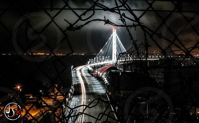 The bay bridge in San Francisco California photo