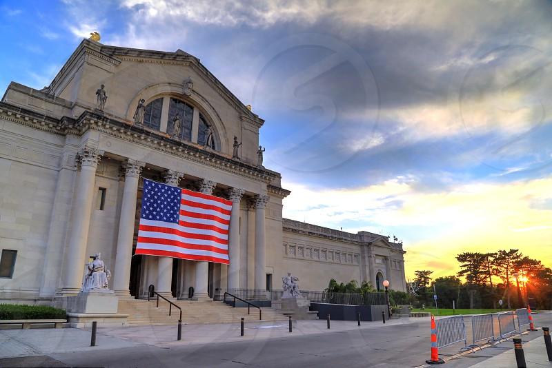 The St. Louis Art Museum on Art Hill in Forest Park St. Louis Missouri. photo