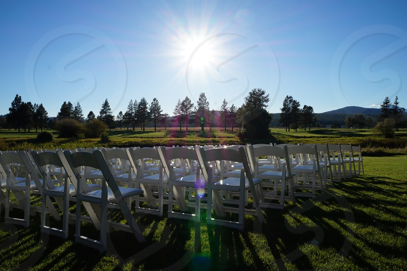 Wedding in Sunriver Oregon photo