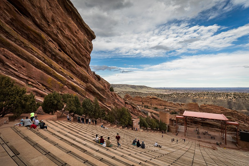 Impressions around the red rocks park and amphitheater photo