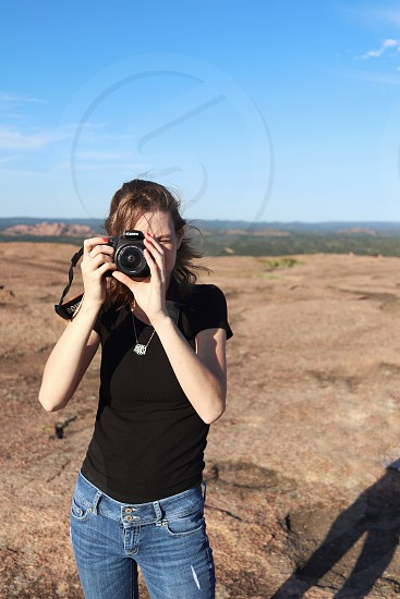 Enchanted Rock is a beautiful place to clear your mind. A perfect place to do some work!  photo