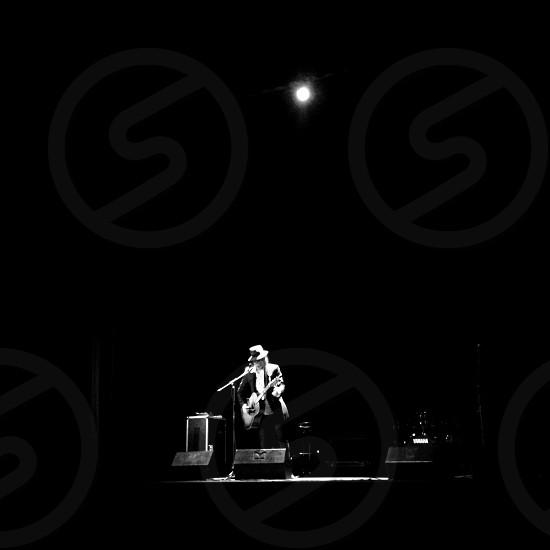 white stage light  photo