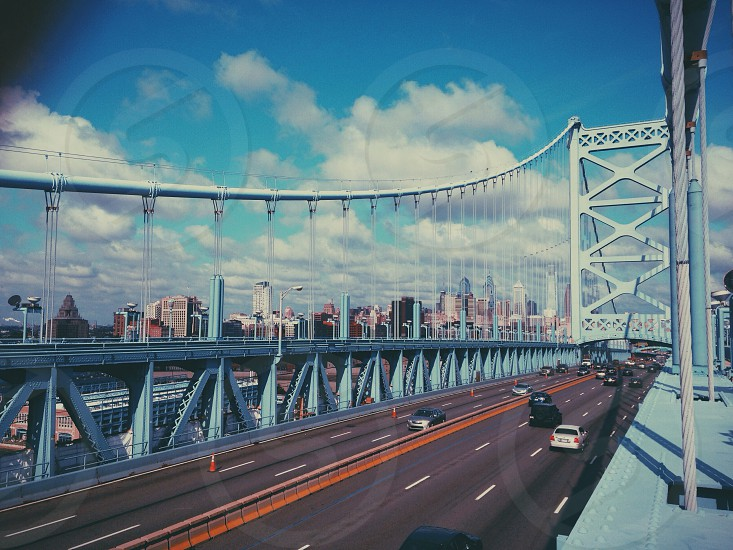 Benjamin Franklin Bridge Philadelphia Summer 2014 photo
