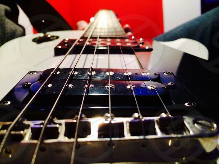 An Epiphone Les Paul guitar photo
