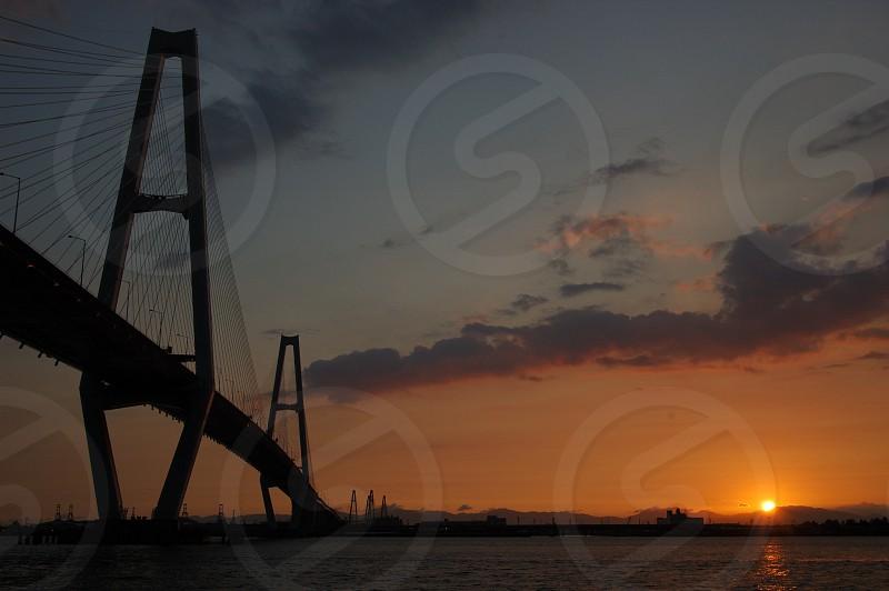 名古屋港の名港トリトン photo