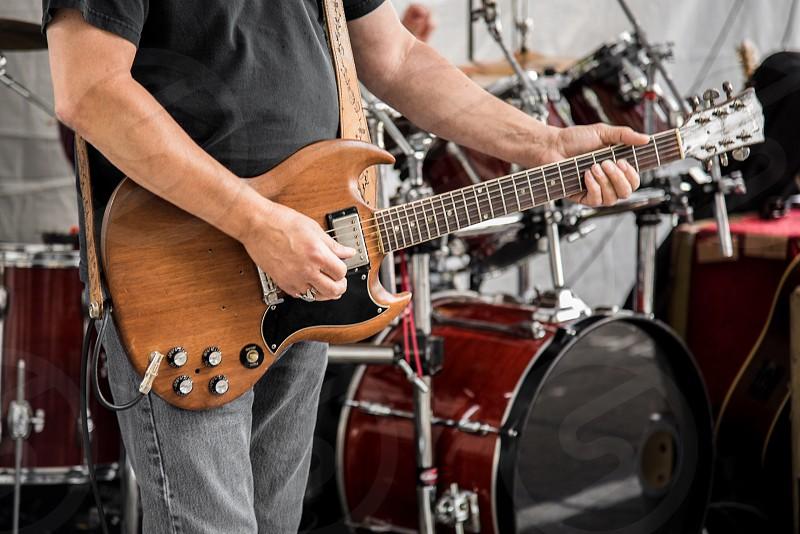 Guitar music band photo