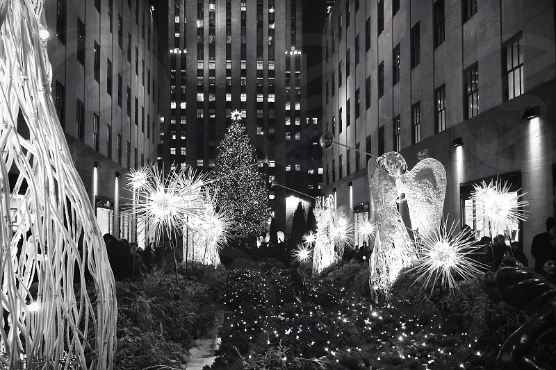 Rockefeller center Christmas.  photo