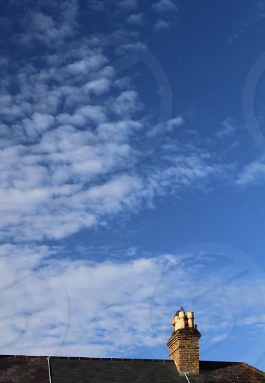 rooftop in Galway Ireland photo