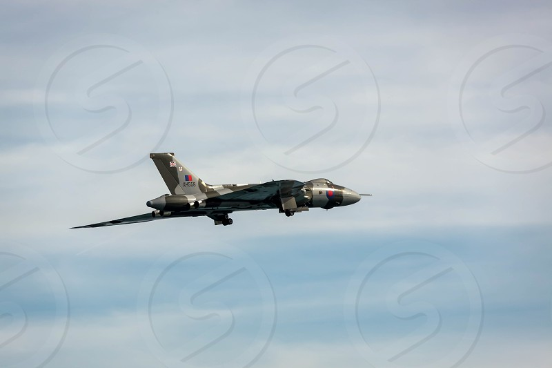 Avro Vulcan XH558 at Airbourne photo