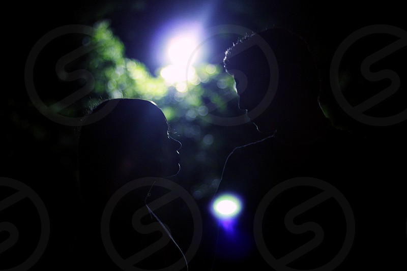 silhouette photography photo