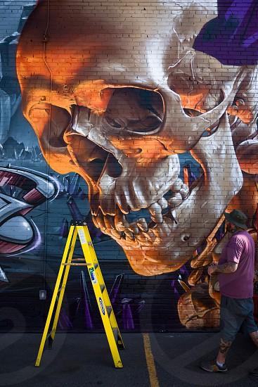Crushwalls graffiti and mural street art festival in Denver Colorado photo