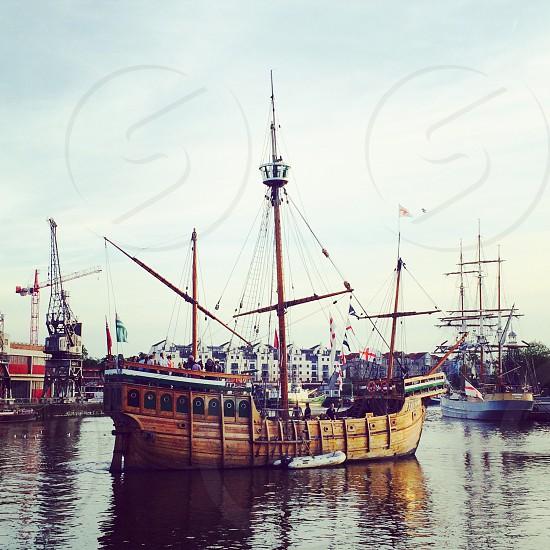Ship in Bristol  photo