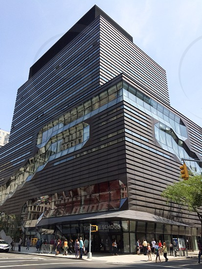 New York NYC city street university the new school architecture photo