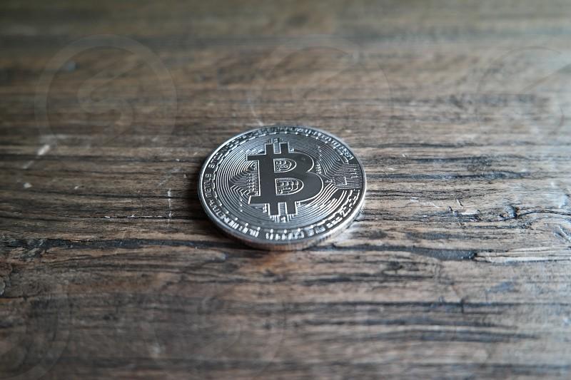 finance a bitcoin coin photo