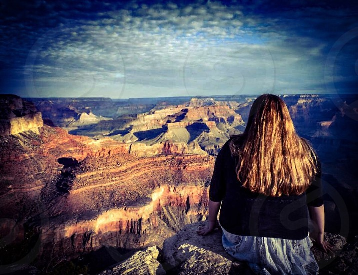 Grand Canyon Girl photo