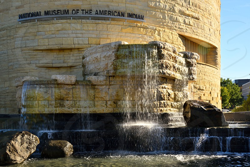 National Museum of the American Indian in Washington DC. photo