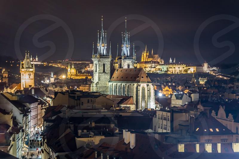 Prague old town photo