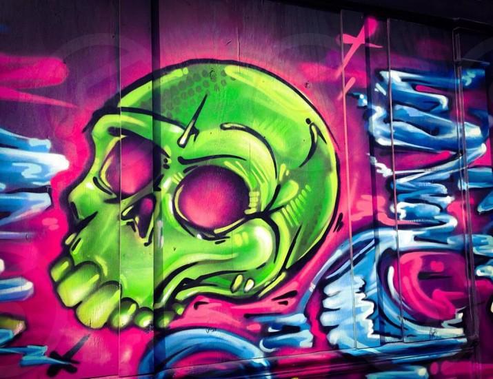 Graffiti Skull photo