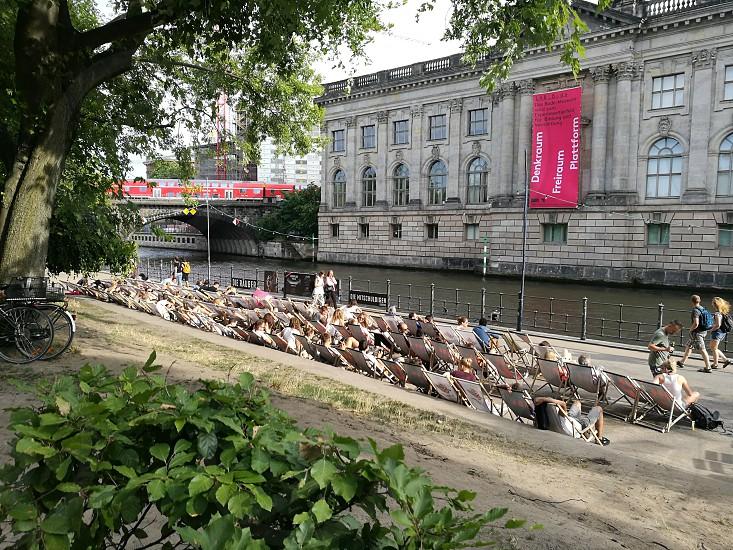 summer time near Bode Museum Berlin photo