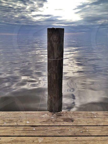 brown wooden pole photo
