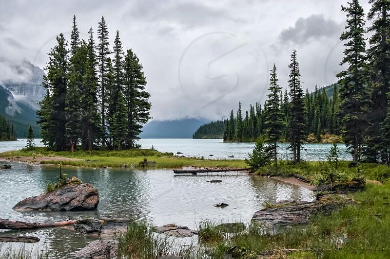 Maligne Lake photo