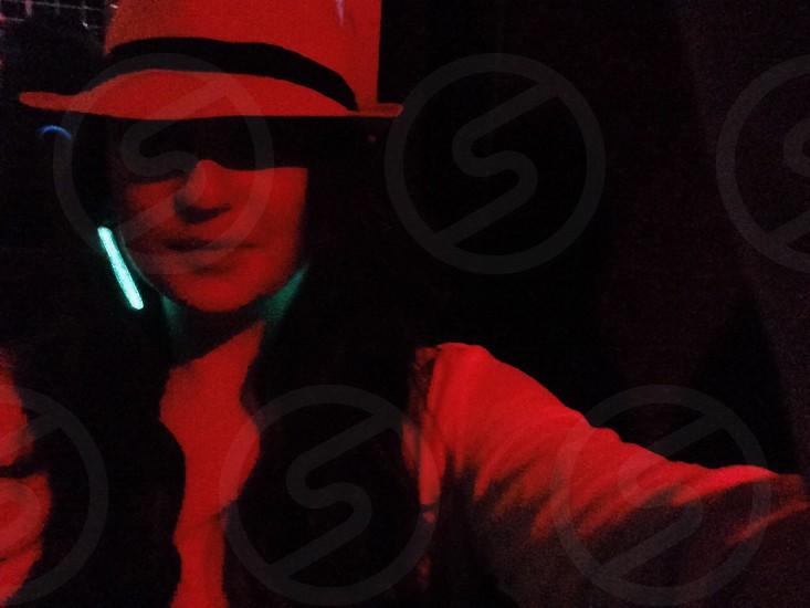 clubbing selfie photo