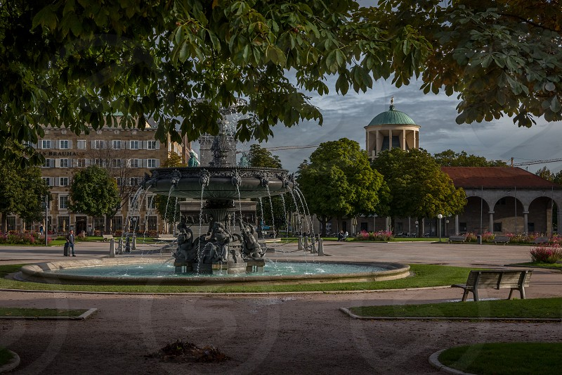 Impressions around downtown Stuttgart in South Germany photo