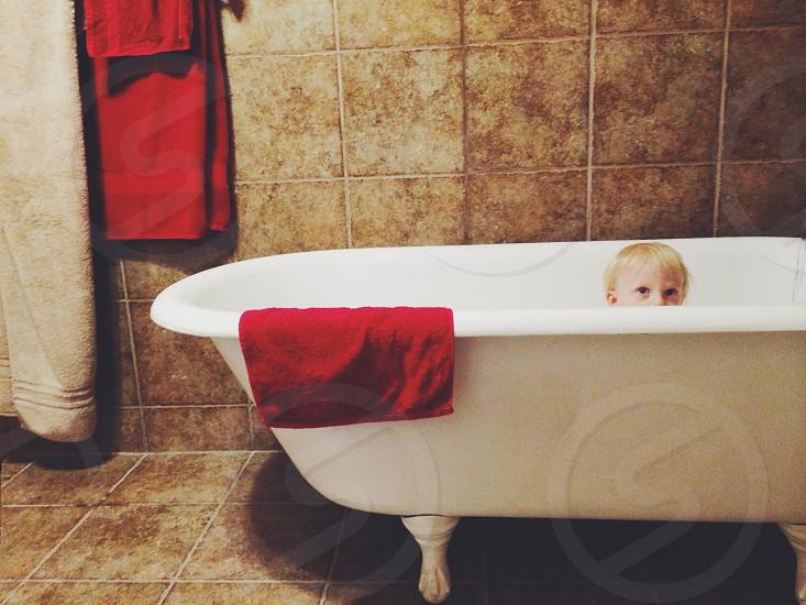 Bath time fun❤️ photo