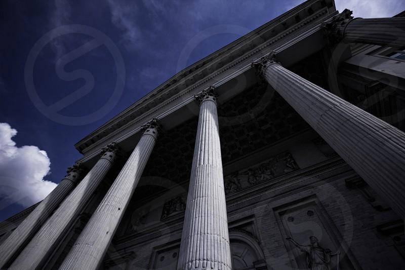 Brussels Belgium building of justice photo