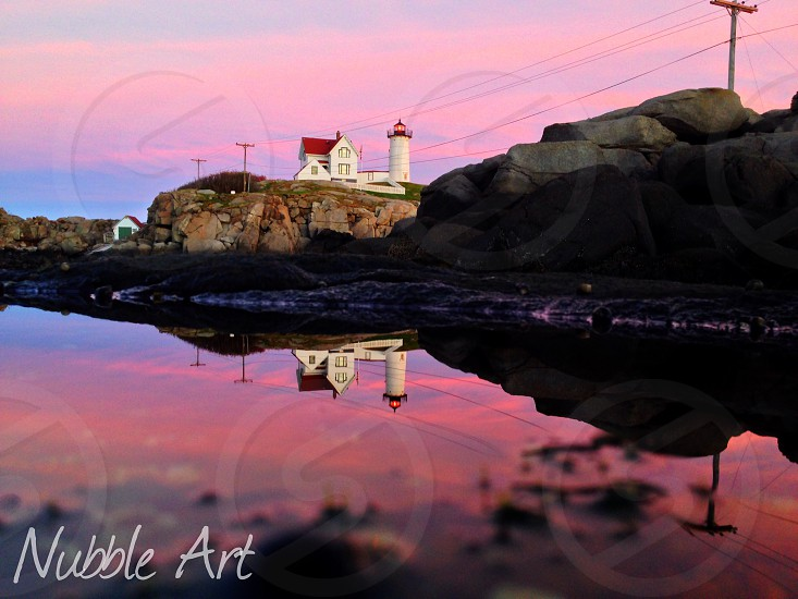 Nubble Lighthouse York Maine  photo