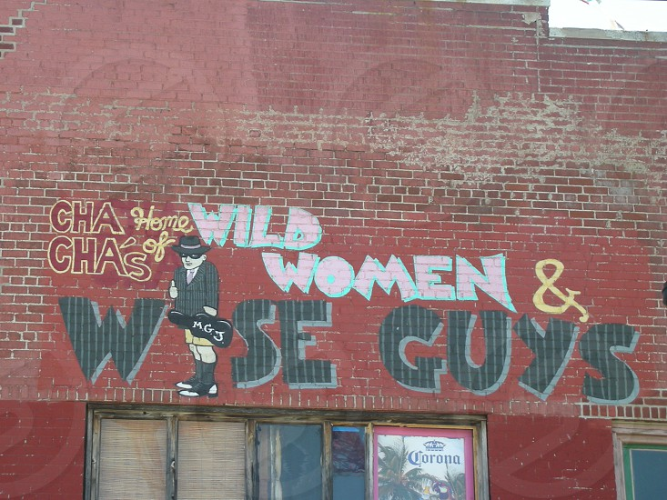 cha cha's home of wild women and wise guys building paint photo
