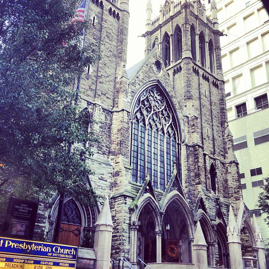 Downtown Pittsburgh photo