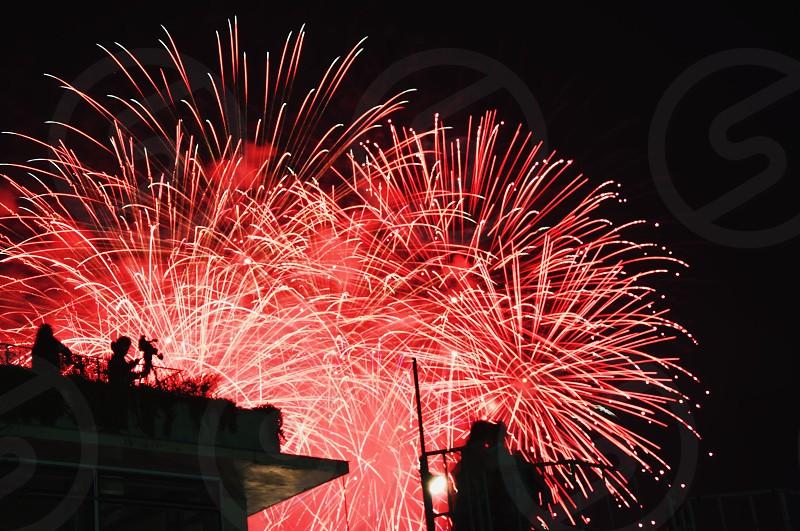 New year Firework photo