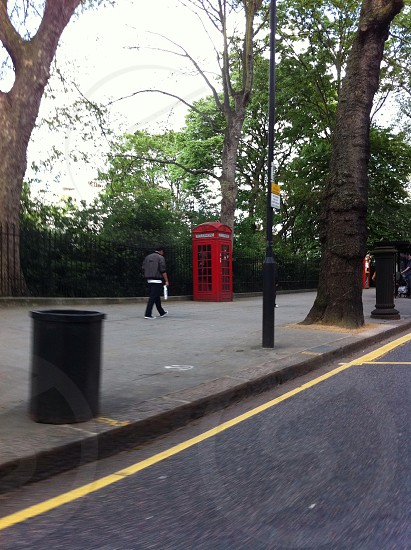 A pay phone in London  photo