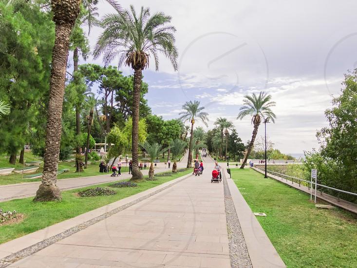 Karaalioglu Park Antalya Turkey. photo