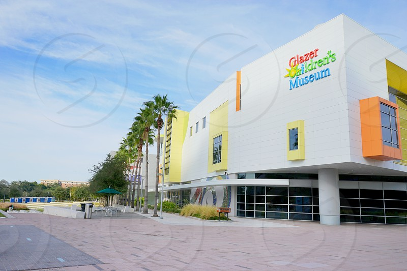 exterior view of Glazer Children's Museum in Tampa FL photo
