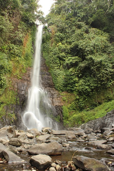 Gitgit waterfall Bali photo