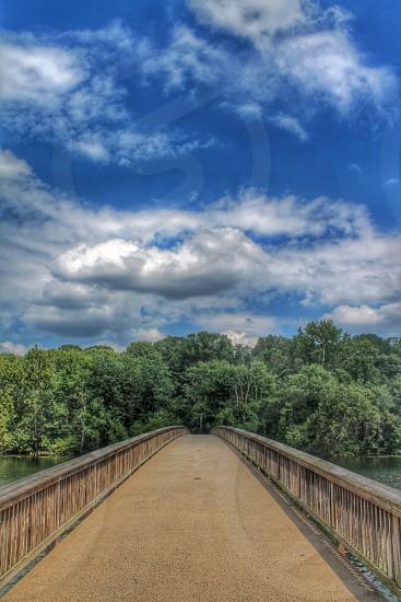 Bridge to Roosevelt Island Washington D.C.   photo