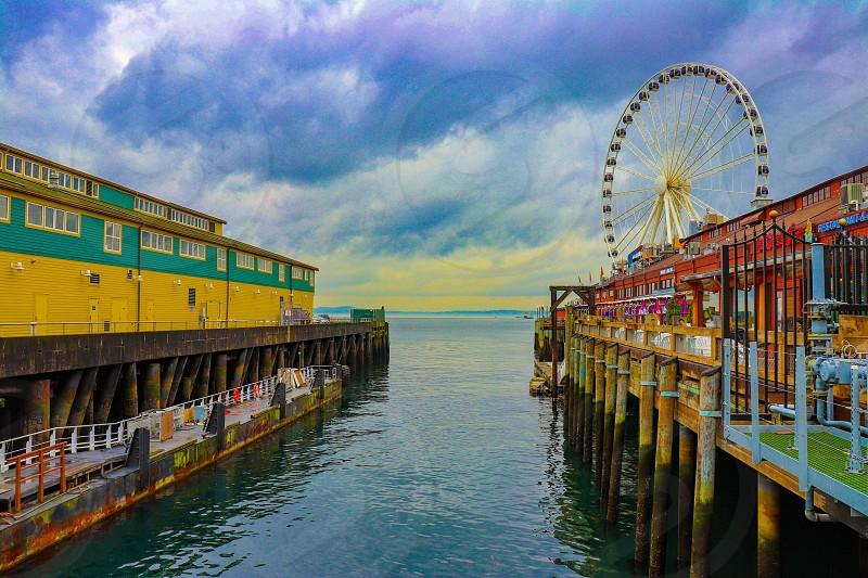 Seattle Washington @ The Great Wheel  photo
