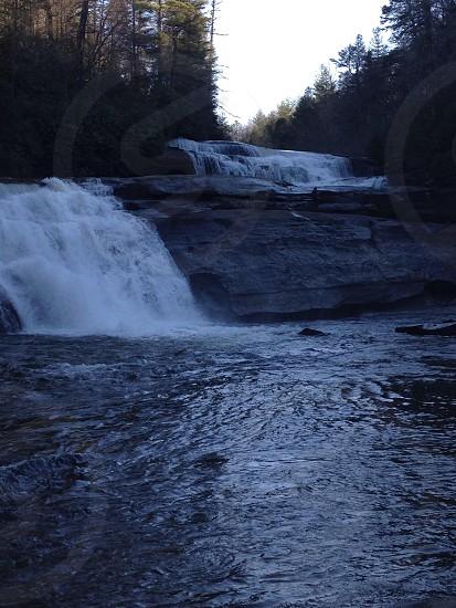 Triple Falls at DuPont National Park photo