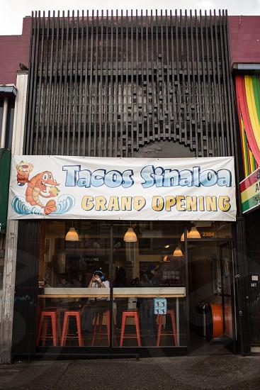 tacos sinaloa grand opening during daytime photo