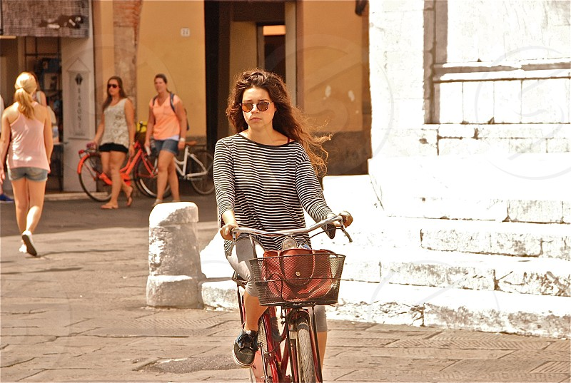 Cycling in Lucca photo