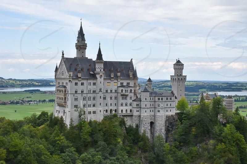 Neuschwanstein castle Germany photo